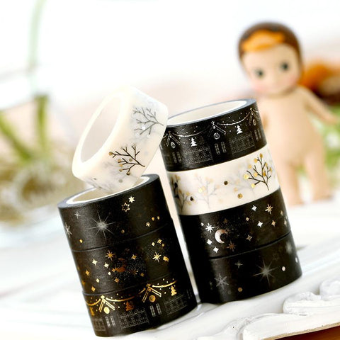 Gold Foil Festivals Washi Tape