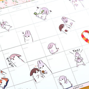 Kawaii Rabbit Stickers