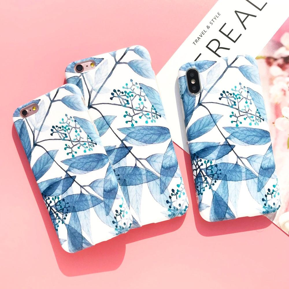 Leaves and Feathers Phone Case