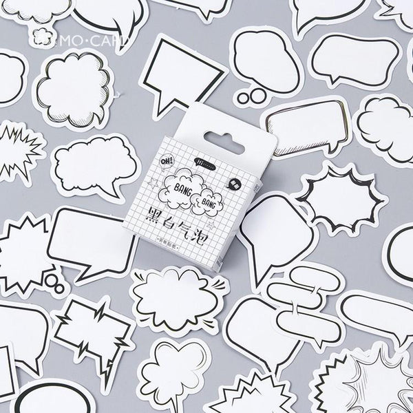 Bubble Speech Stickers