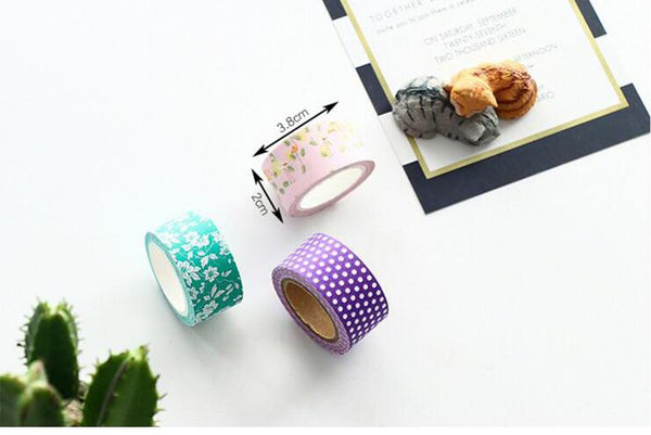 Kawaii Patterns Decorative Washi Tape