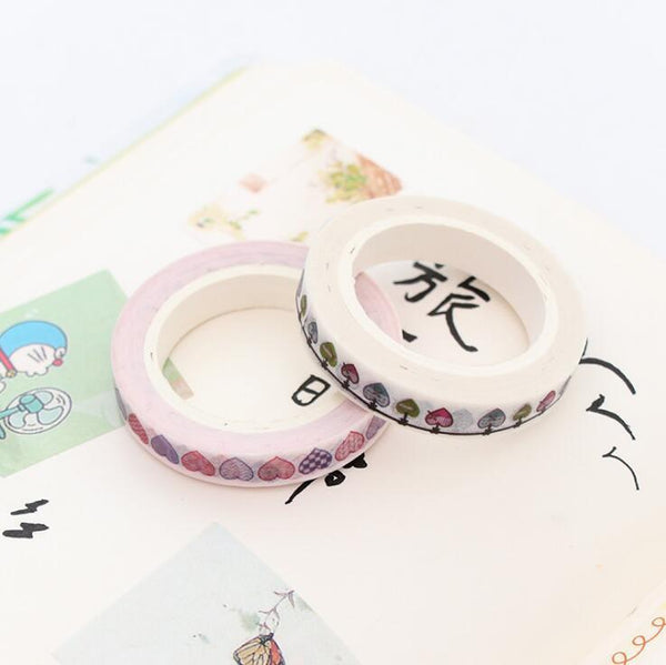 Rainbow Washi Tape Collection
