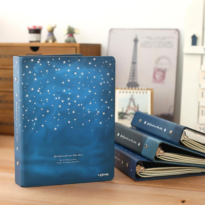 """Good Night"" Loose Leaf Hardcover Notebook"