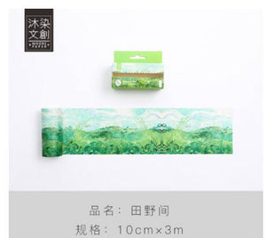Wide nature washi Tape