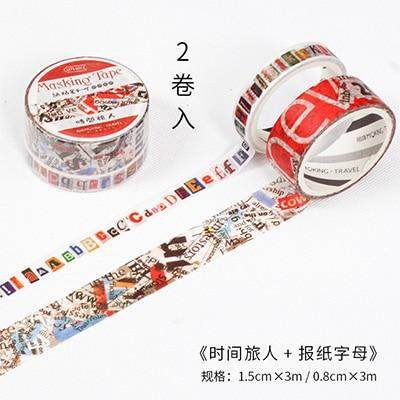 Vintage Themed Washi Tape