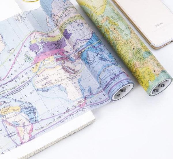 Travel Themed Washi Tape