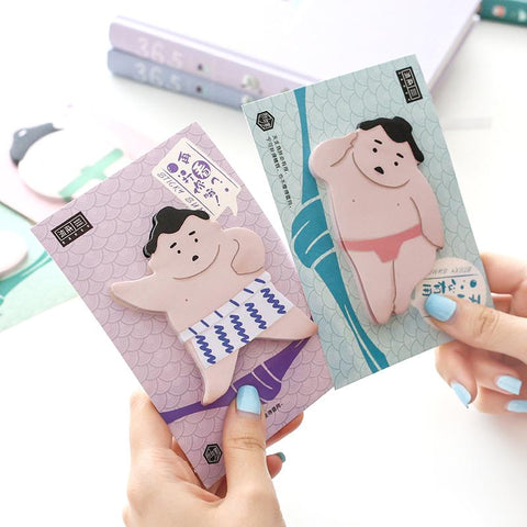 Japanese Sumo Sticky Notes
