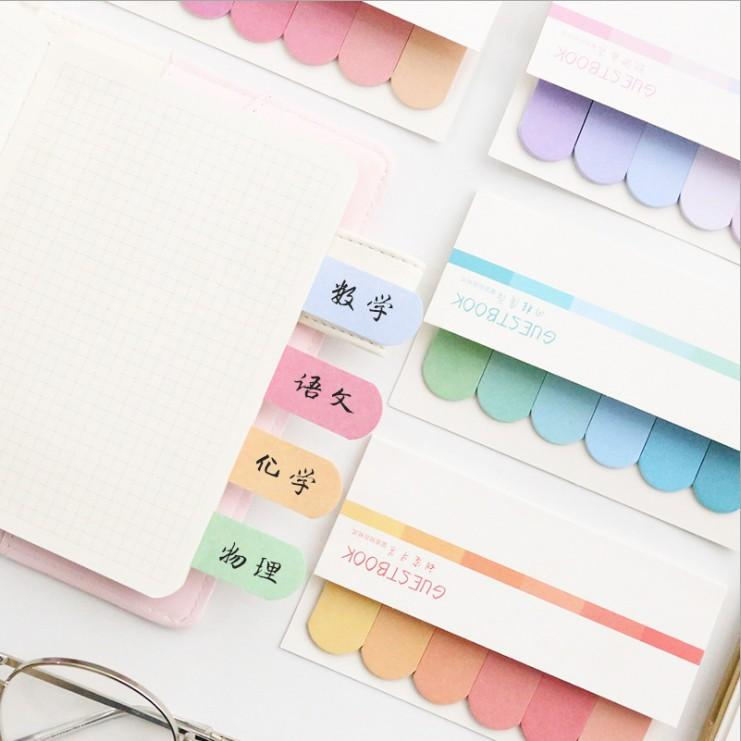Rainbow Index Sticky Notes