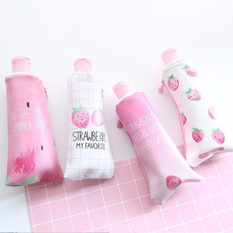 Strawberry Toothpaste Pencil Case