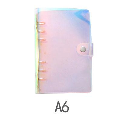 Holographic 6-Ring Binder