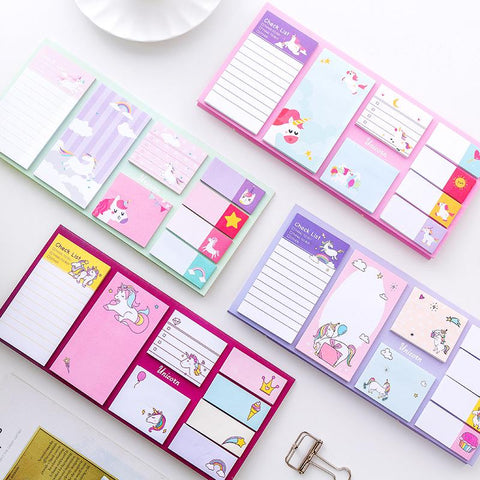 Unicorn Dream Sticky Notes Set