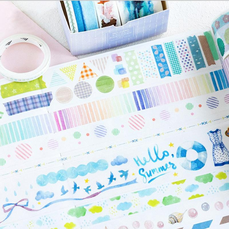 Color Burst Washi Tape Set