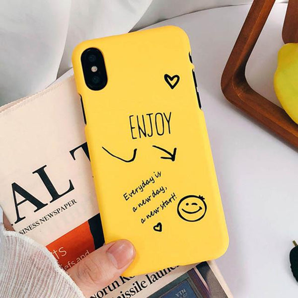 Enjoy Your Day Phone Case