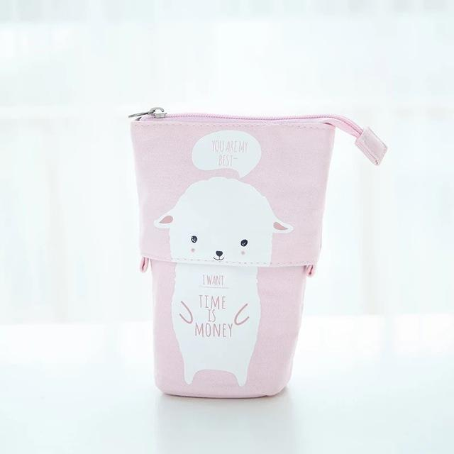 Large Kawaii Pastel Pencil Case