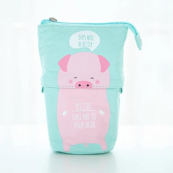 Kawaii pastel large Pencil Case