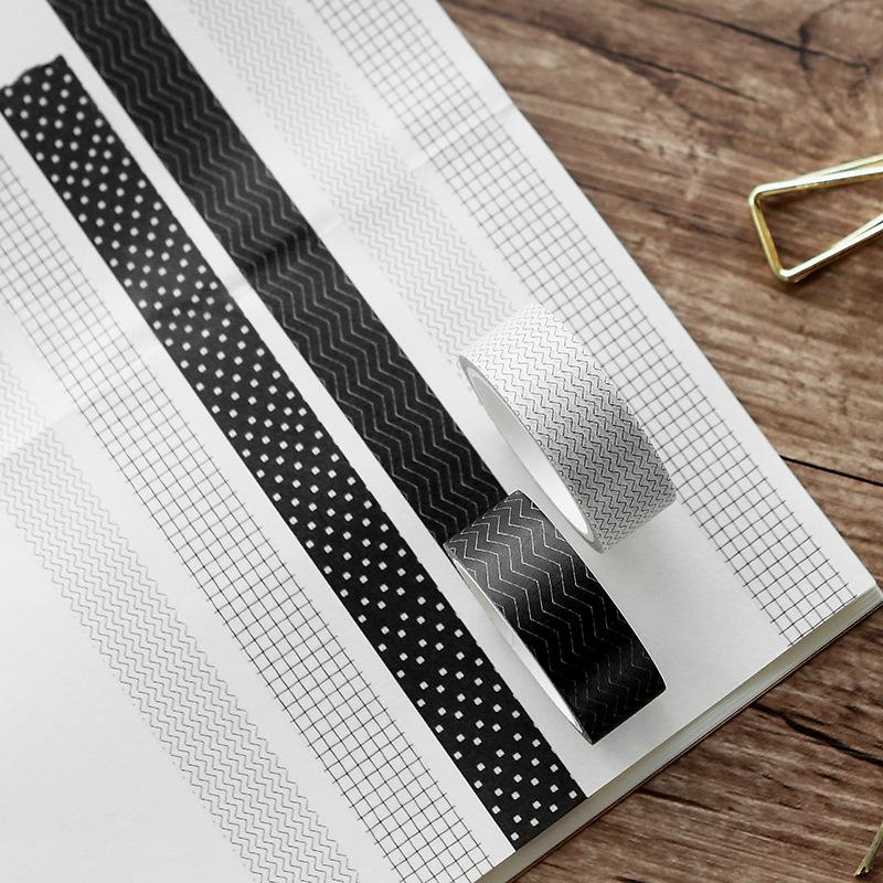 Black & White Series Washi Tape