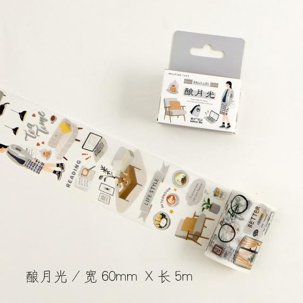 Kawaii Japanese Wide Masking Tape