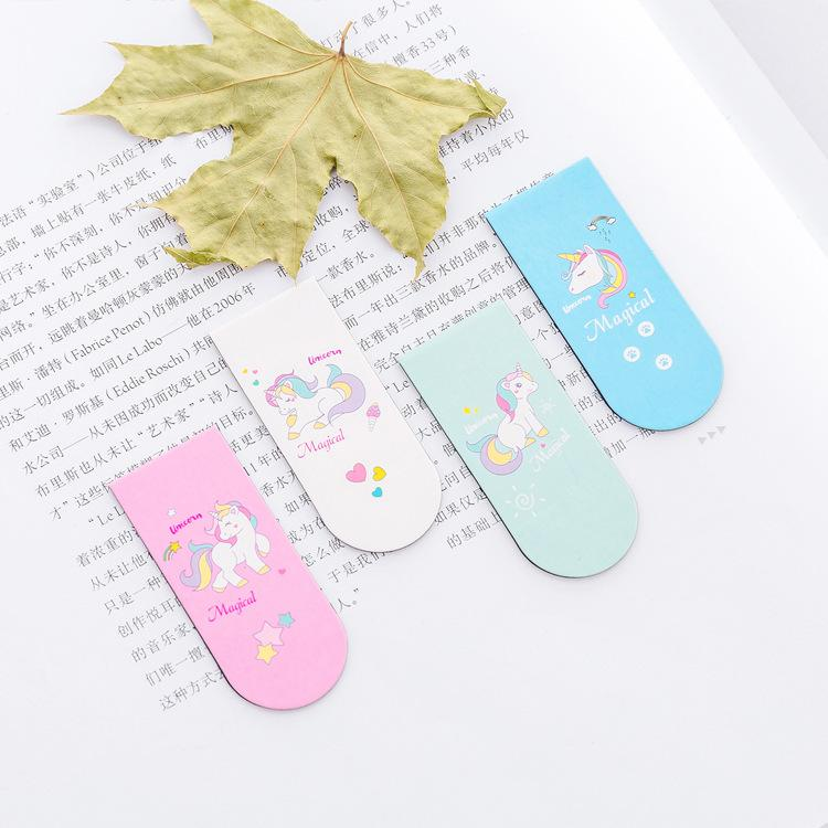 Unicorn Magnetic Bookmarks