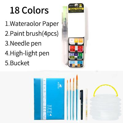 Nomad Water Color Pen & Paint Set