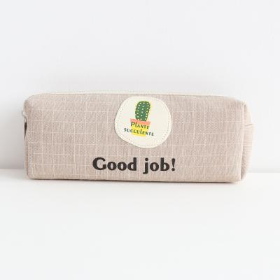 Happy Cactus Pencil Case