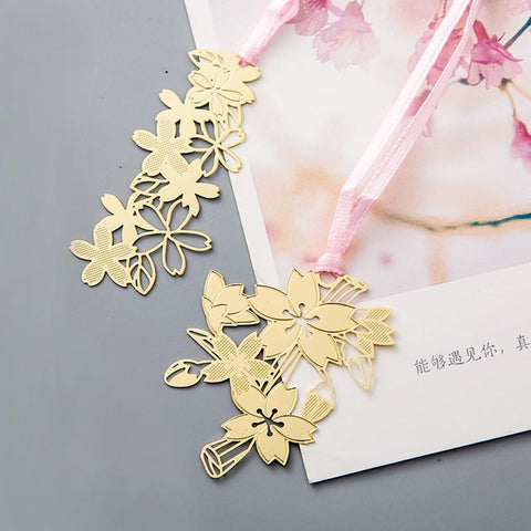 Sakura Metal bookmark collection
