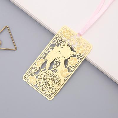 Cherry Blossom Metal Bookmark
