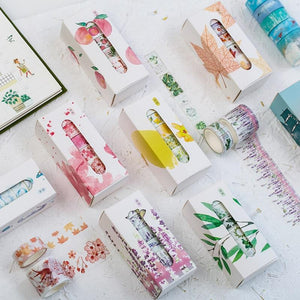 5pcs/lot Fall Washi Tape Set