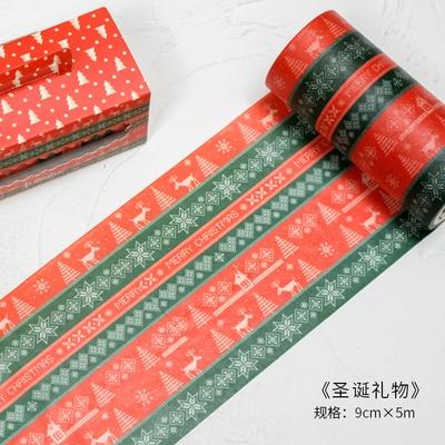 Merry Christmas Wide Washi Tape