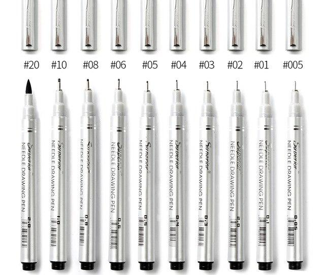 Waterproof Fine Line Pen Set