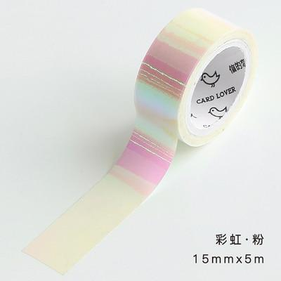 Laser Rainbow Washi Tape