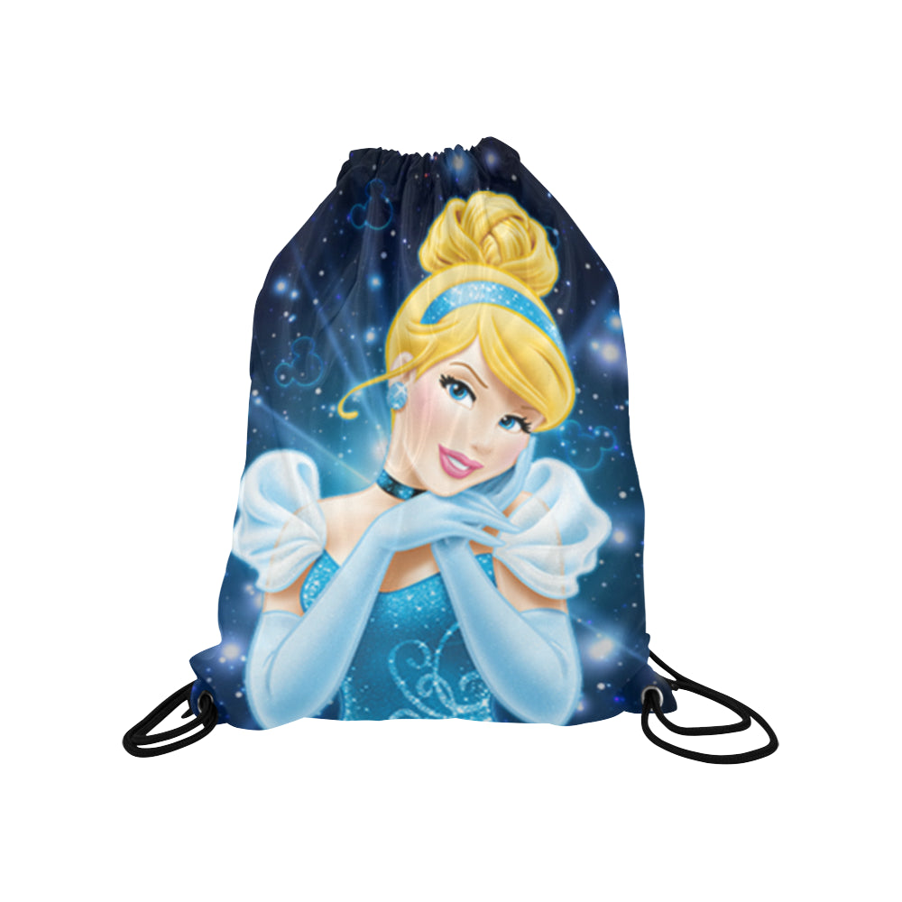 Cinderella - Medium Drawstring Bag