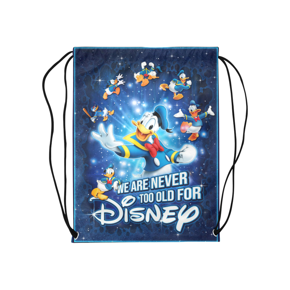 Donald Duck Disney Medium Drawstring Bag