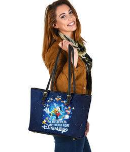 Donald Never Too Old Tote [EXPRESS SHIPPING APPLIED]