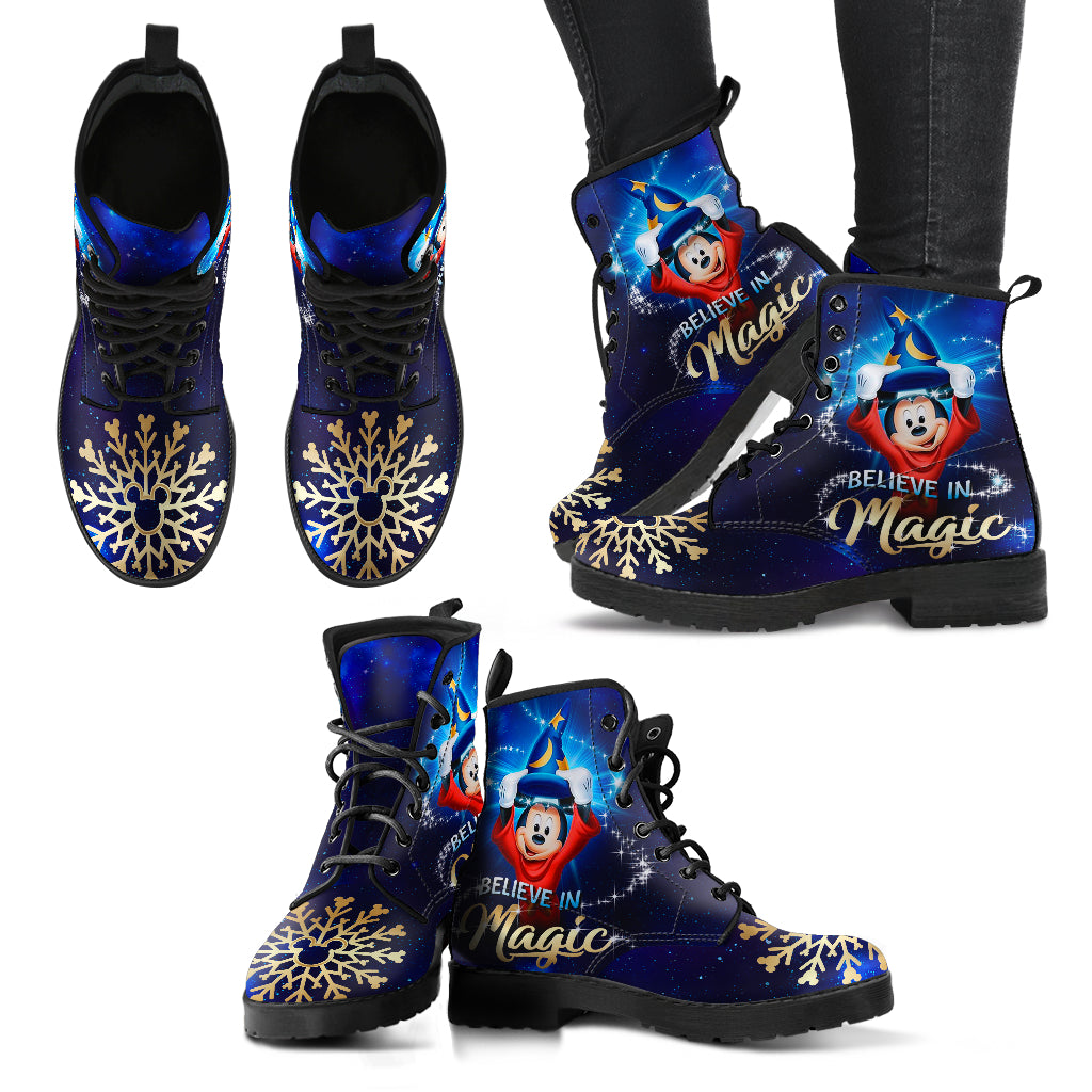 [Express Line Product+ 12$] Mickey Fantasia Christmas - Boots