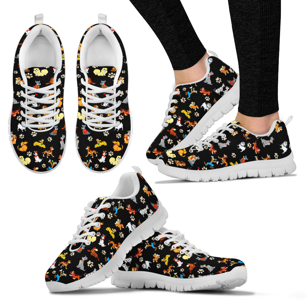 All DN Dogs- Women's Sneakers in White