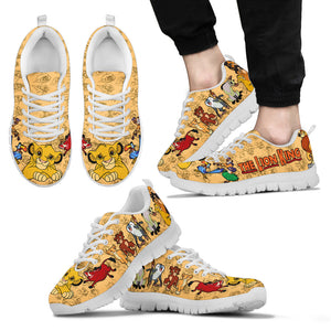 The Lion King Men's Sneakers Black