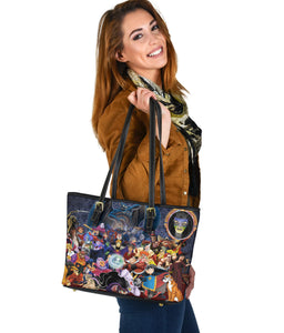 Vlains Disney Small Leather Tote