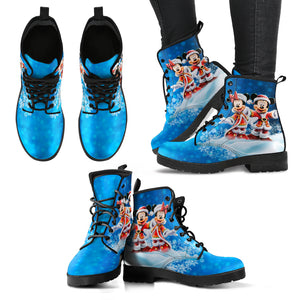 [Express Line Product+ 12$] Mickey and Minie Santa - Boots