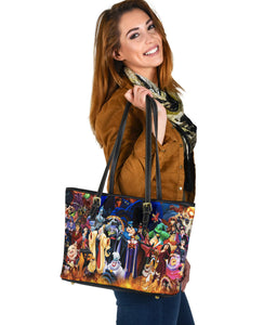 Dn Vlains Small Leather Tote