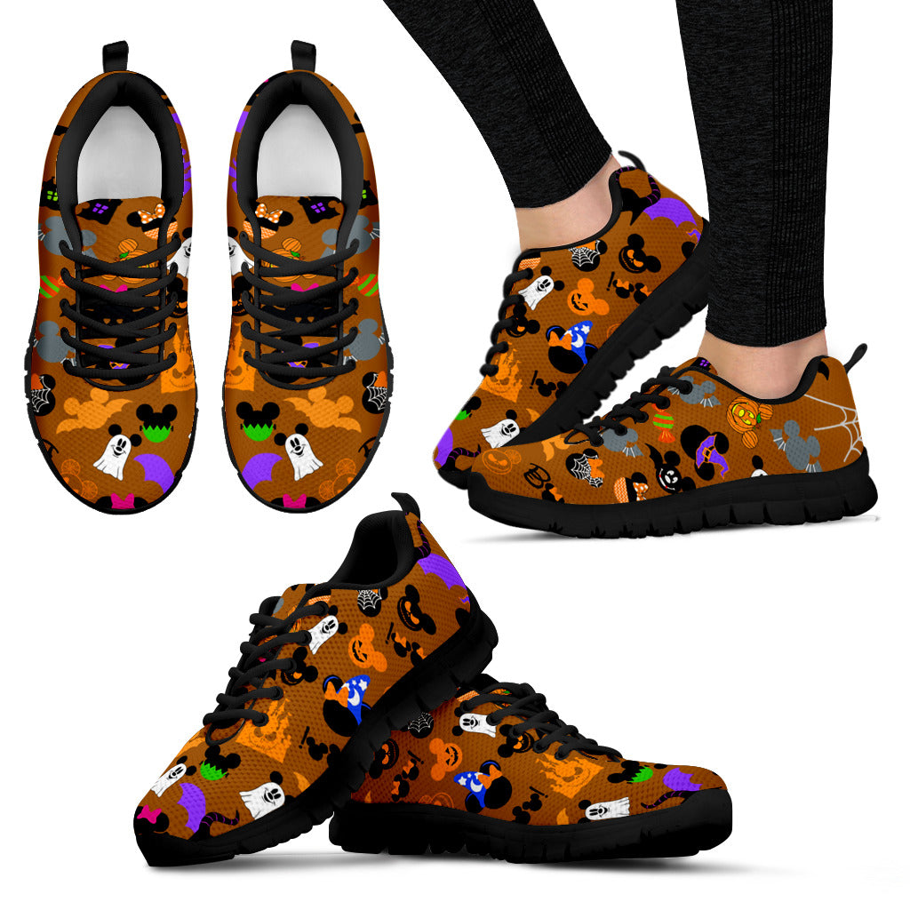 [Express Line Product+ 12$] Halloween Disney Women's Sneakers (Black)