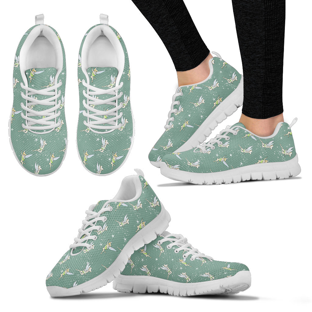 Tinkerbell Woman Sneakers in White