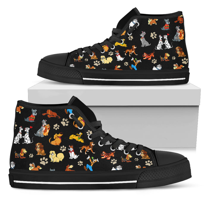 All Dogs Women's High Top Shoes