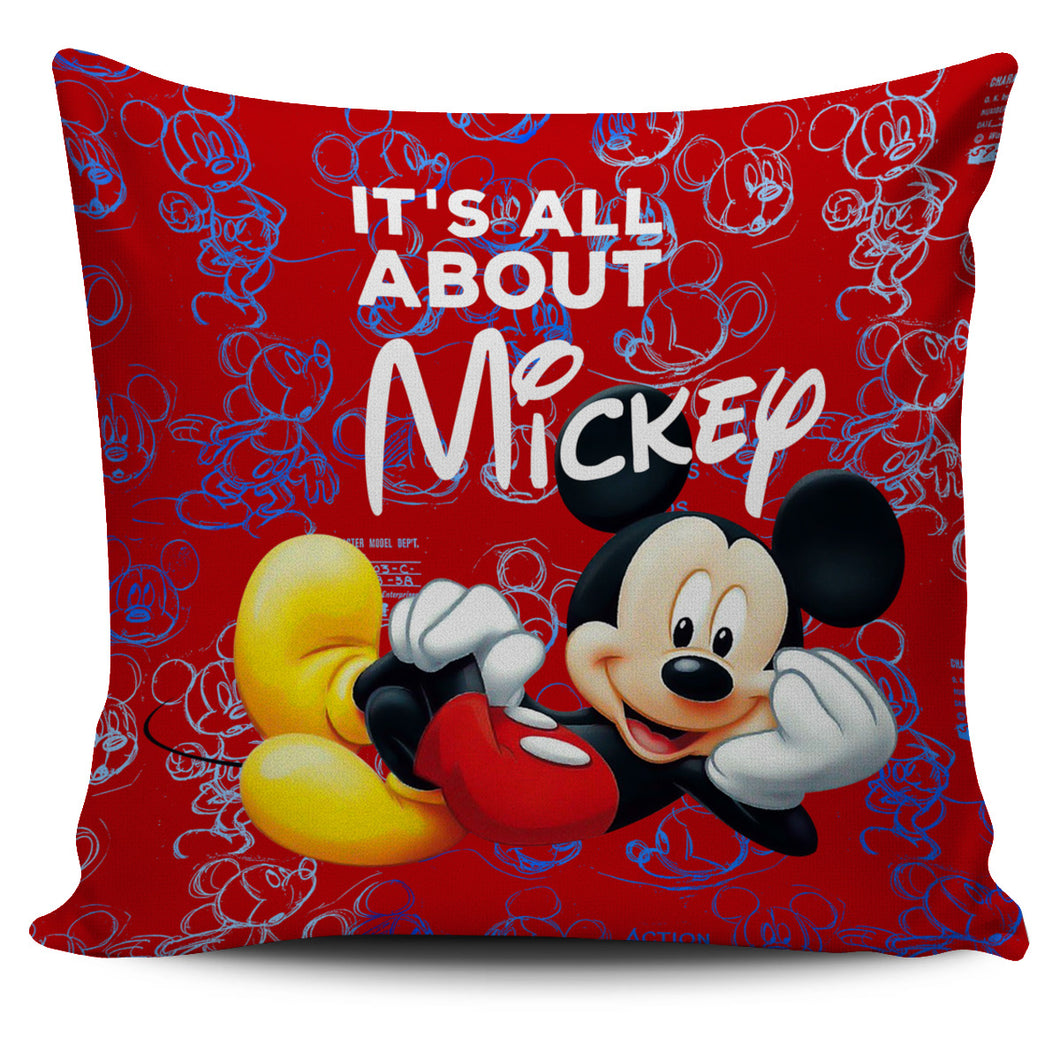 It's All  About Mickey - Pillow Covers