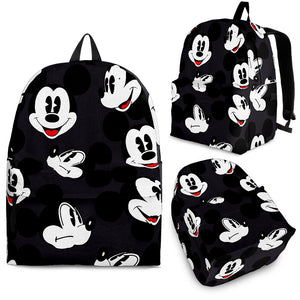 Mickey All Over Backpack Black