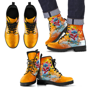 [Express Line Product+ 12$] Stitch Santa - Boots