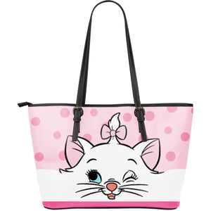 DN Cat - Leather Tote Bag