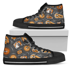 [Express Line Product+ 12$] Jack Disney Halloween Men's High Top Shoe (Black)