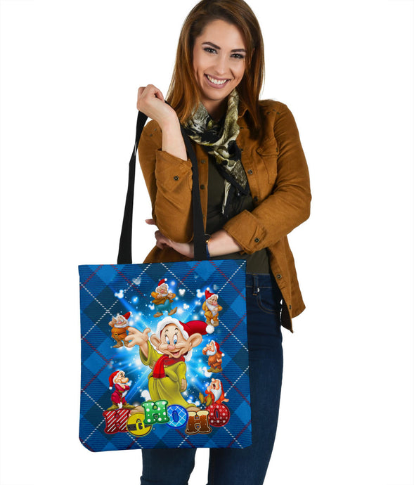 Dopey Premium Poly Cotton Tote Bag
