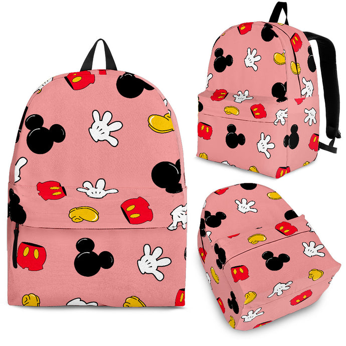 MINI MICKEY PATTERN BACKPACK PINK