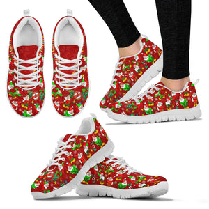 SD Women's Sneakers Red (White)